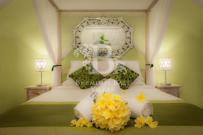 Romantic one bedroom villas
